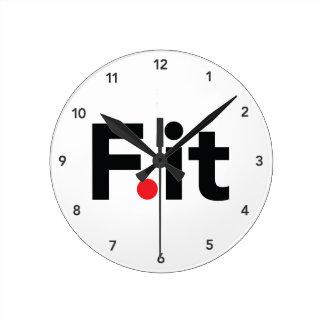 F él lema anti de la aptitud reloj redondo mediano