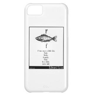 F era una vez un pequeño pescado funda para iPhone 5C
