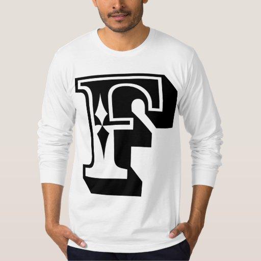 """""""F"""" está para el FALL - camiseta de la letra del Playera"""