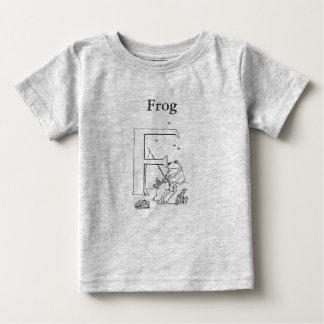 F está para la rana tshirts
