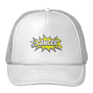 F-Ewings Sarcoma Cancer Trucker Hat