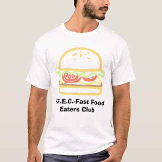 F.F.E.C-Fast Food Eaters Club Men's T-Shirt
