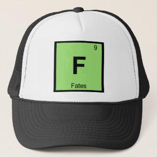F - Fates Greek Chemistry Periodic Table Symbol Trucker Hat