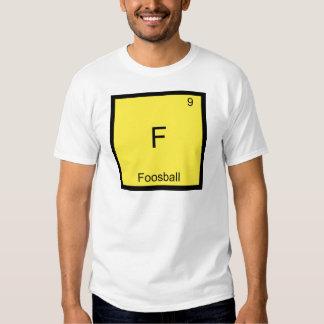 F - Foosball Funny Chemistry Element Symbol Tee
