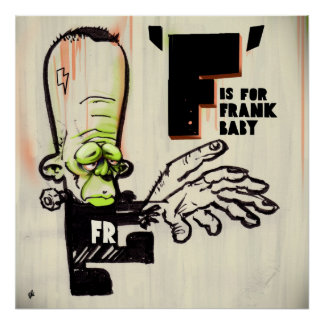 F for Frank Poster