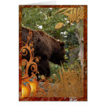 f-grizzly-bear-006 greeting card
