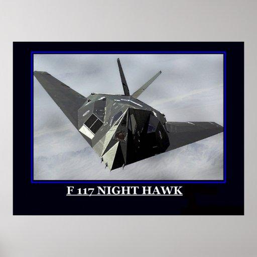 F halcón de 117 noches impresiones
