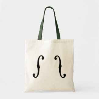 F-Holes -wg Tote Bags
