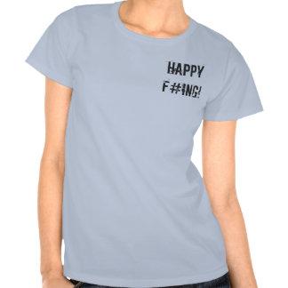 ¡F#ing feliz! Playeras