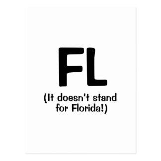 F***ing Loser - Black Postcard