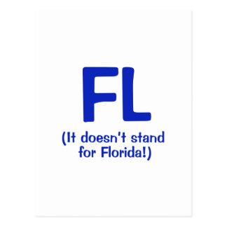 F***ing Loser - Blue Postcard