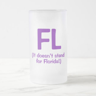 F***ing Loser - Purple Frosted Glass Beer Mug