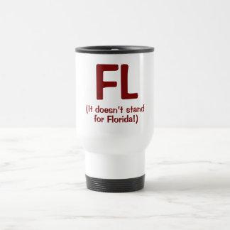 F***ing Loser - Rust Travel Mug