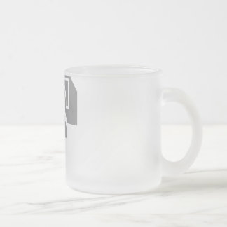 """""""F"""" is for FAIL - Alphabet Letter Tee Frosted Glass Coffee Mug"""