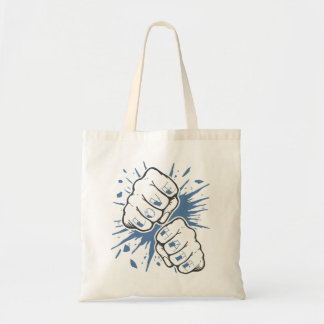 F is for Fight Tote Bag