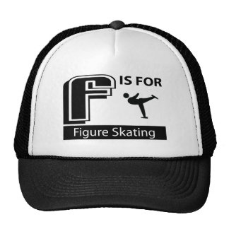 F Is For Figure Skating Hat