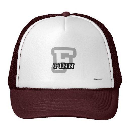 F is for Finn Trucker Hat