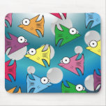 F is for Fishy Mouse Pad