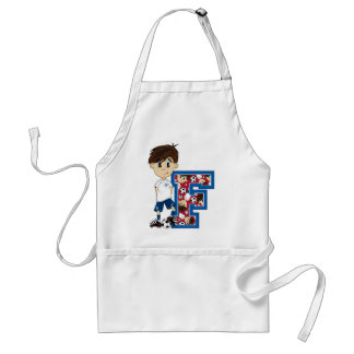 F is for Football Apron