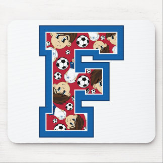 F is for Football Mousepad
