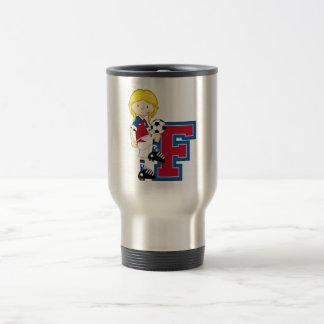 F is for Football Coffee Mugs