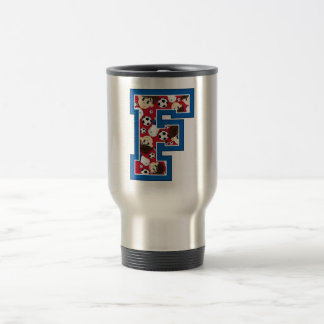 F is for Football Coffee Mug