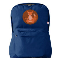 F is for Fox American Apparel™ Backpack