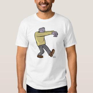 f is for frankenstein's monster tshirt