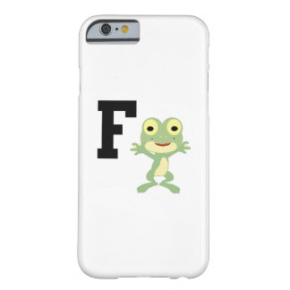 F is for Frogman Barely There iPhone 6 Case