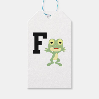 F is for Frogman Gift Tags