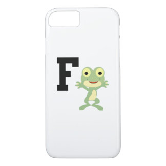 F is for Frogman iPhone 7 Case