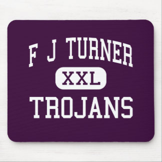 F J Turner - Trojans - High - Beloit Wisconsin Mouse Pad