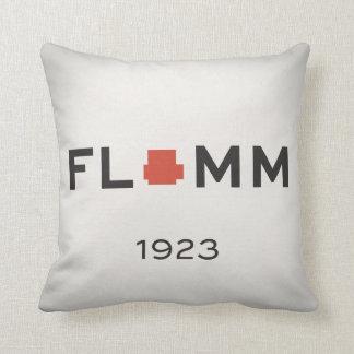 F L + M M 1923 with NEU Power Gib Throw Pillow