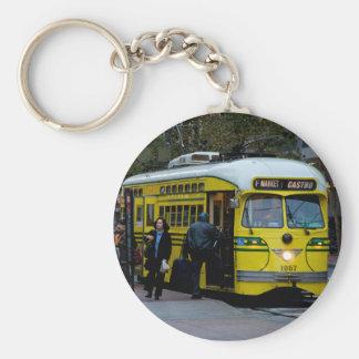 F-Line Streetcar Keychain