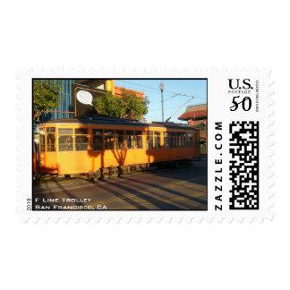 F Line Trolley Postage