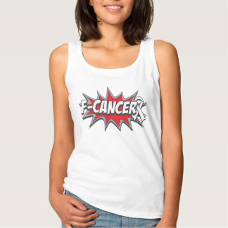 F-Lung Cancer Basic Tank Top