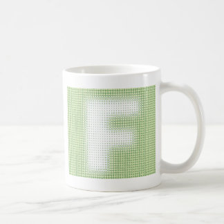 F Monogram Coffee Mug