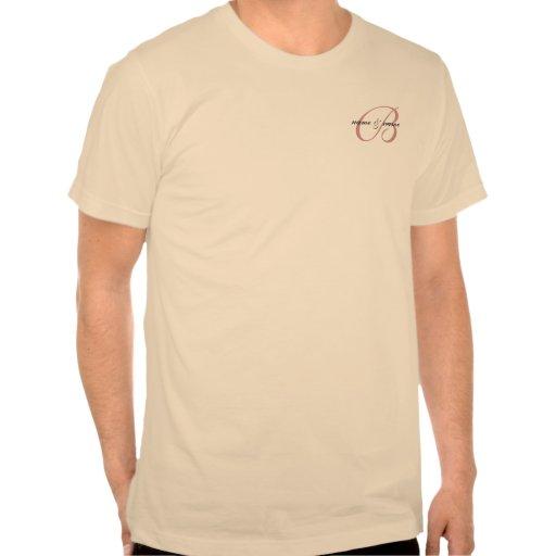 f: Monograma de B, b: vivieron feliz siempre Camiseta