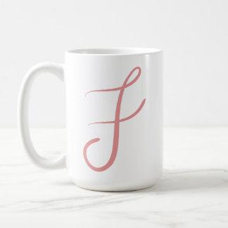F Mug - Letters to Keller Series