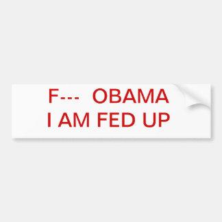 f obama bumper stickers