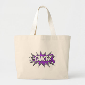 F-Pancreatic Cancer Tote Bag
