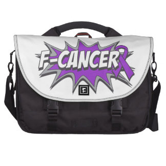 F-Pancreatic Cancer Commuter Bags