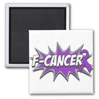 F-Pancreatic Cancer Refrigerator Magnets