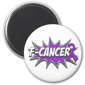 F-Pancreatic Cancer Fridge Magnets