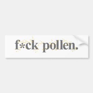 f_pollen_tshirt bumper sticker