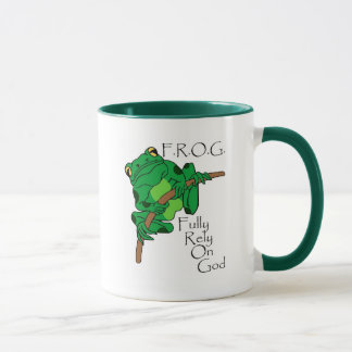 F.R.O.G. Fully Rely On God #1 Mug