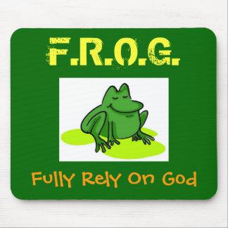 F.R.O.G. MOUSE PAD