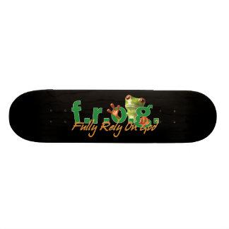 F.R.O.G. Skateboard