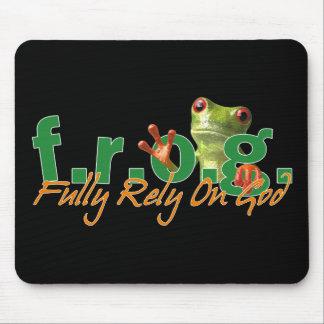 F R OG Mousepad