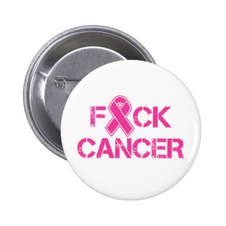 F(ribbon)CK Cancer Pinback Button